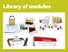 Library of modules